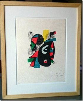 Joan Miro, 1980 Hand Signed Lithograph