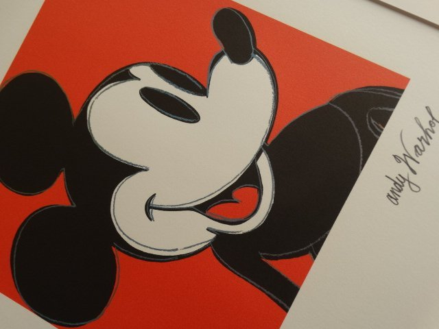 ANDY WARHOL, MICKEY MOUSE