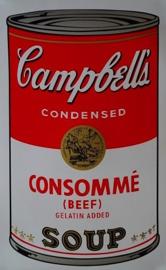 ANDY WARHOL-CAMPBELLS TOMATO SOUP