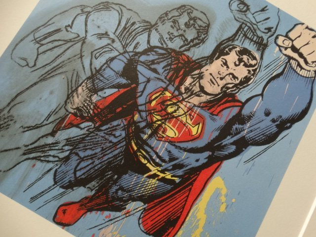 ANDY WARHOL, SUPERMAN
