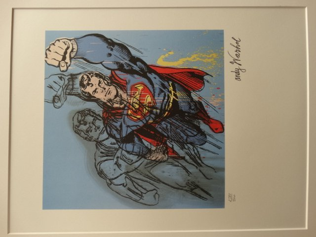 ANDY WARHOL, SUPERMAN - 2