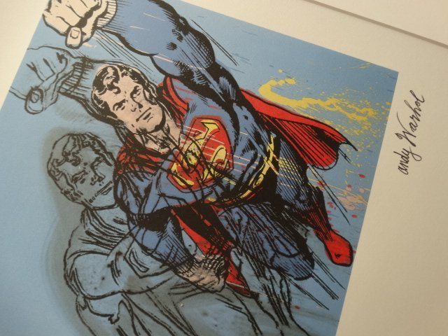 ANDY WARHOL, SUPERMAN - 3