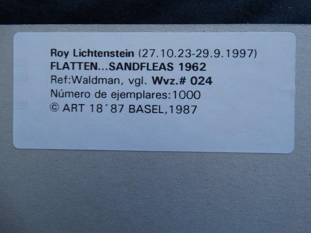 ROY LICHTENSTEIN 1987 - 4