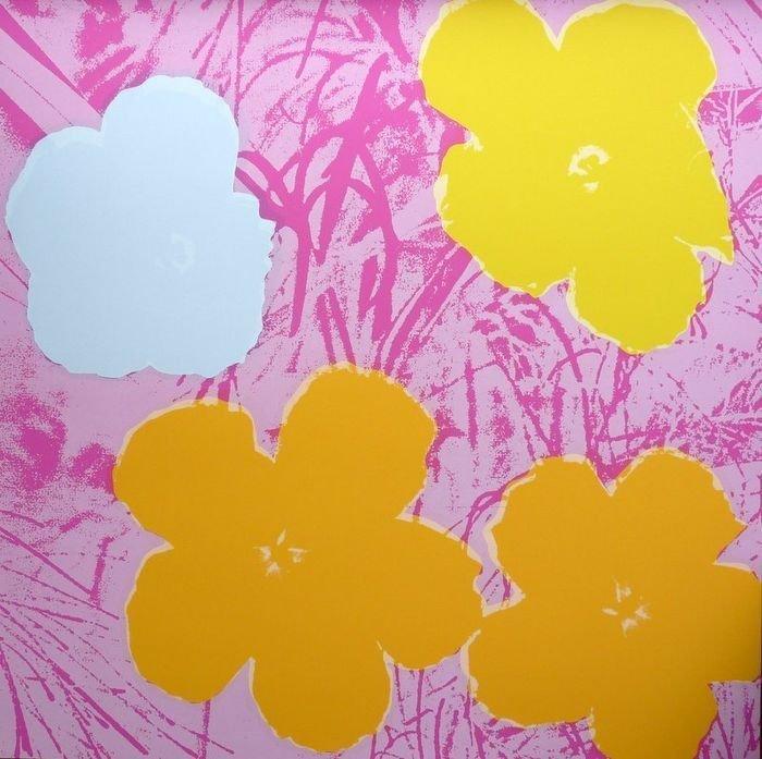 ANDY WARHOL, FLOWERS