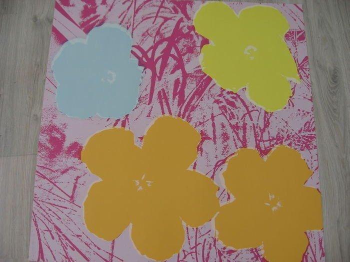 ANDY WARHOL, FLOWERS - 4