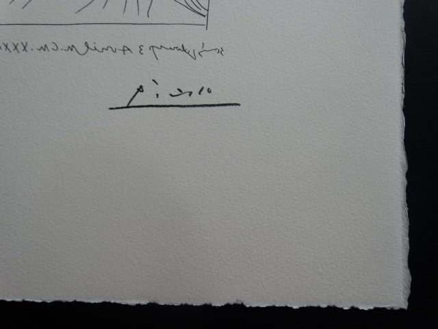 PABLO PICASSO, SPADEM, SIGNED AND HAND NUMBERED - 5