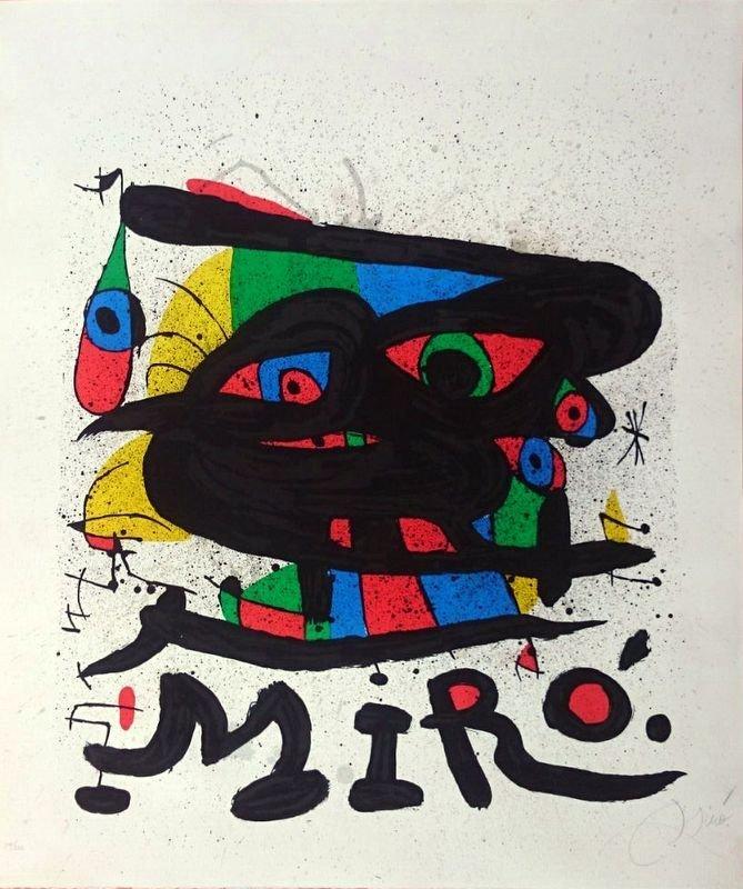 JOAN MIRÓ, 1971