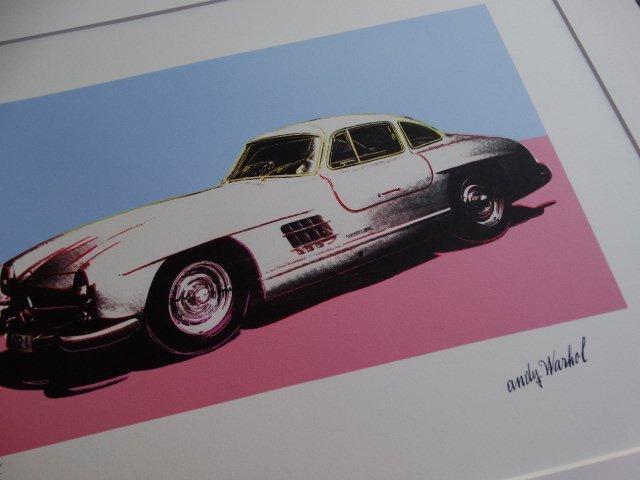ANDY WARHOL, CLASSIC CAR - 2