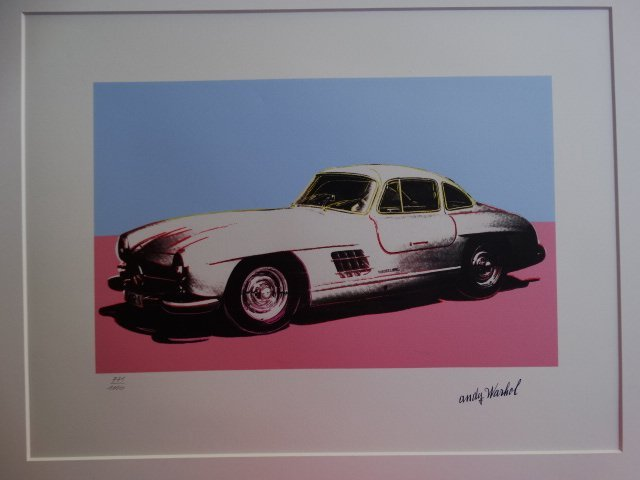ANDY WARHOL, CLASSIC CAR - 3