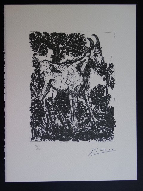 Pablo Picasso, signed and hand numbered - 2