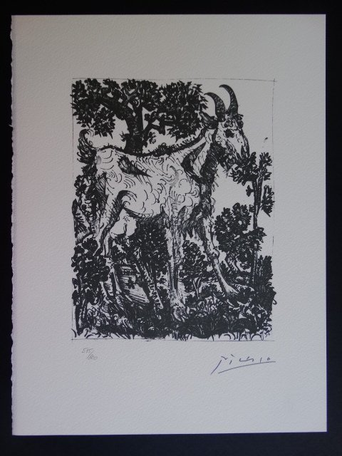 Pablo Picasso, signed and hand numbered - 5
