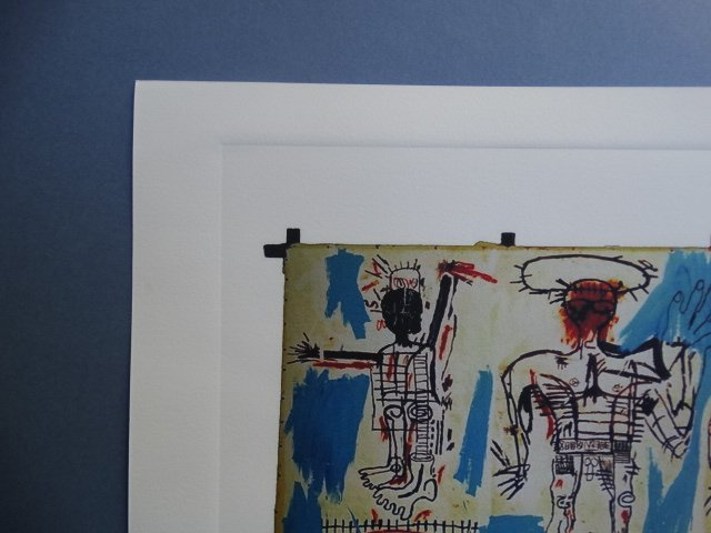 JEAN-MICHEL BASQUIAT PLATE SIGNED AND HAND NUMBERED - 3