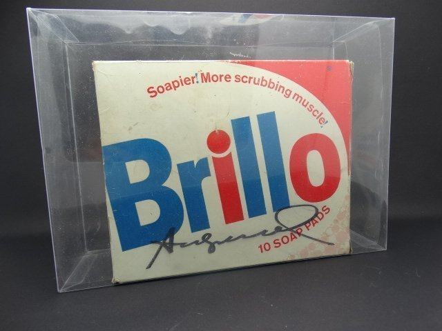 Andy Warhol, American 1928-1987- ''Brillo Box''; mixed
