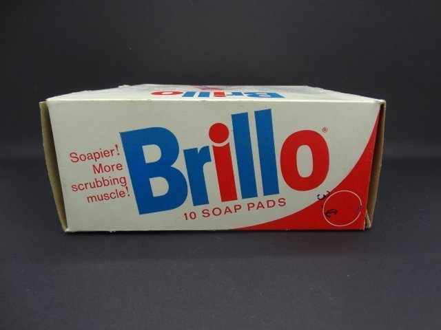 Andy Warhol, American 1928-1987- ''Brillo Box''; mixed - 4