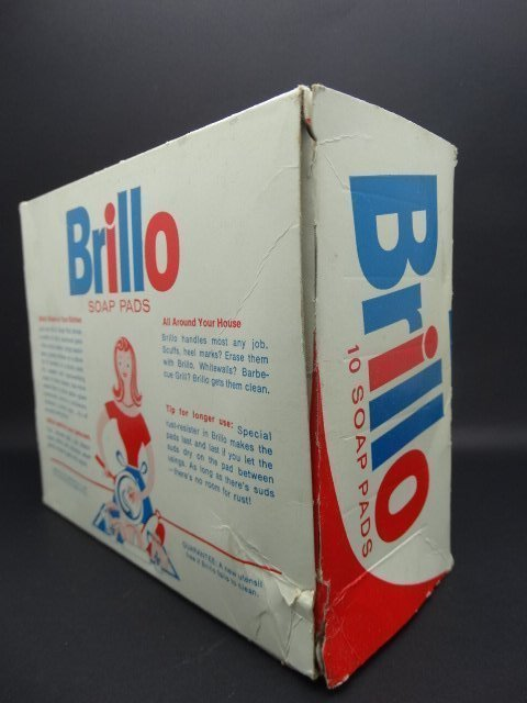 Andy Warhol, American 1928-1987- ''Brillo Box''; mixed - 5