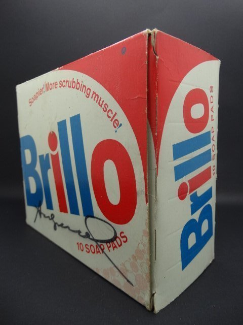 Andy Warhol, American 1928-1987- ''Brillo Box''; mixed - 6