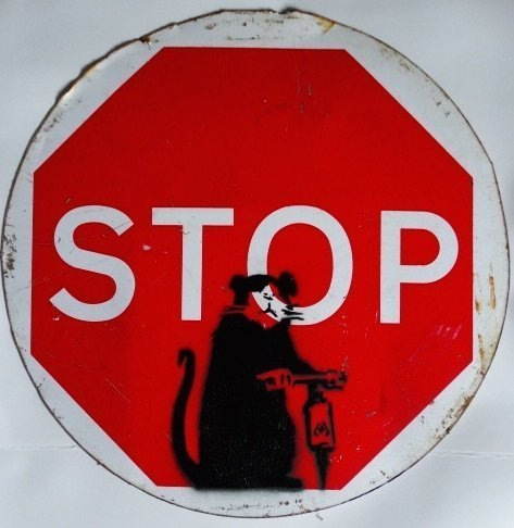 Banksy (b. circa 1974), Sign, GB, circa 2006 - 3