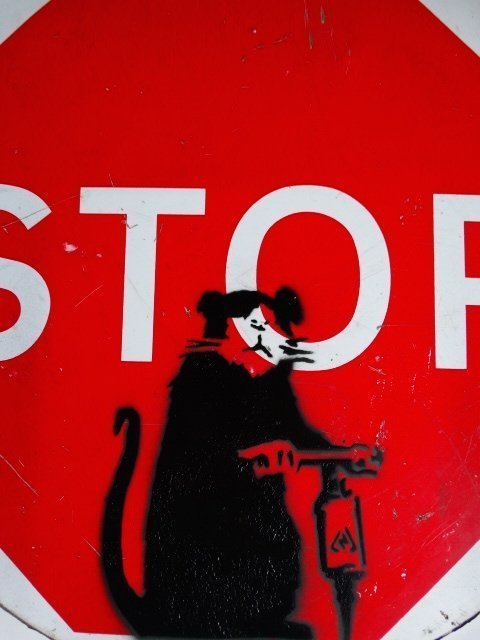 Banksy (b. circa 1974), Sign, GB, circa 2006 - 4