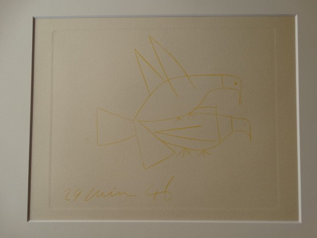 PABLO PICASSO, GRAVURE, ETCHING, 1952 - 6