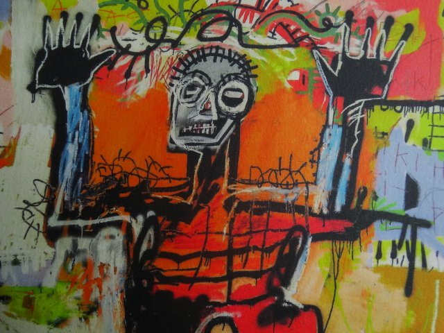 JEAN-MICHEL BASQUIAT, PLATE SIGNED AND HAND NUMBERED - 4