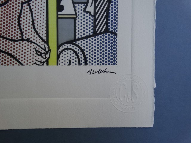 ROY LICHTENSTEIN  HAND NUMBERED,LIMITED PLATE SIGNED - 2