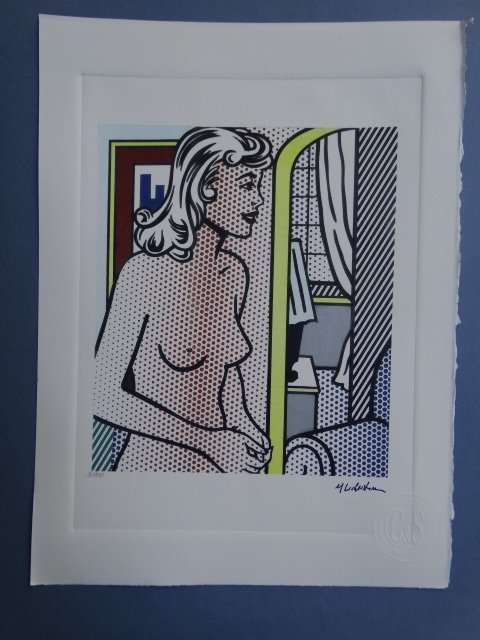 ROY LICHTENSTEIN  HAND NUMBERED,LIMITED PLATE SIGNED - 3