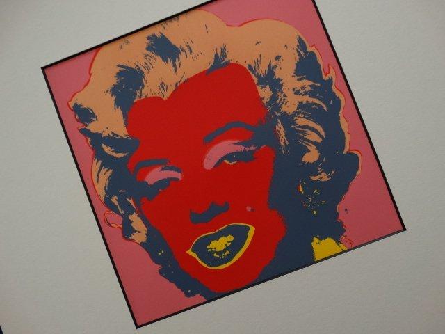 ANDY WARHOL 1987, MARILYN -ART BASEL