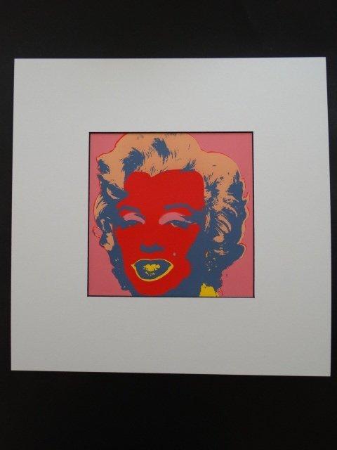 ANDY WARHOL 1987, MARILYN -ART BASEL - 3