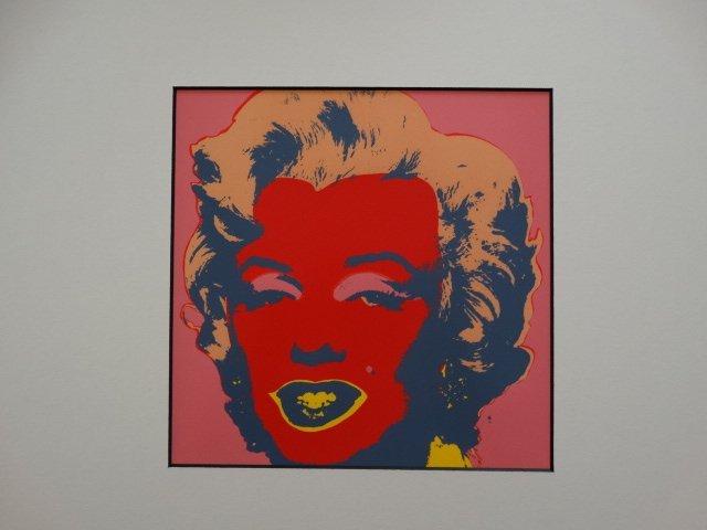 ANDY WARHOL 1987, MARILYN -ART BASEL - 5