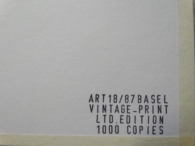 ANDY WARHOL,  1987 -ART BASEL - 3