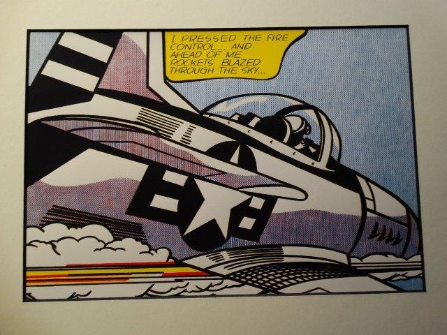 Roy Lichtenstein,  1987 -ART BASEL