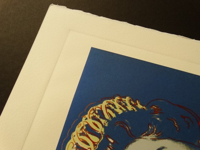 ANDY WARHOL, PLATE SIGNED AND HAND NUMBERED - 4