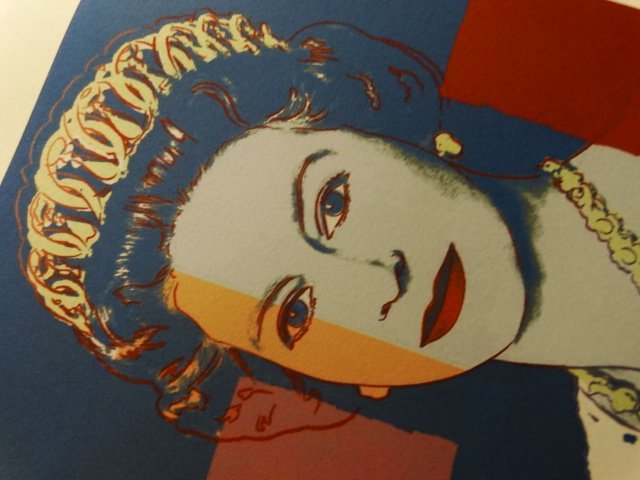 ANDY WARHOL, PLATE SIGNED AND HAND NUMBERED - 5