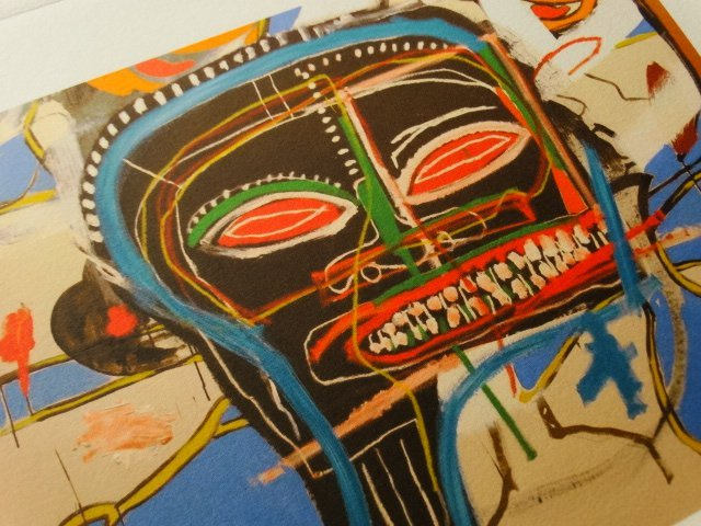 Jean-Michel Basquiat, PLATE SIGNED AND HAND NUMBERED - 6