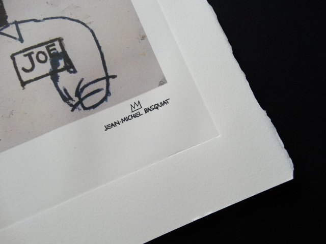 Jean-Michel Basquiat, PLATE SIGNED AND HAND NUMBERED - 3