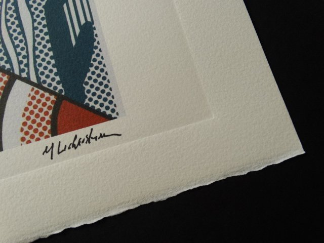 ROY LICHTENSTEIN, PLATE SIGNED AND HAND NUMBERED - 2