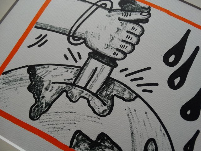 Keith Haring, lithograph, limited edition