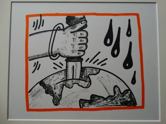 Keith Haring, lithograph, limited edition - 2