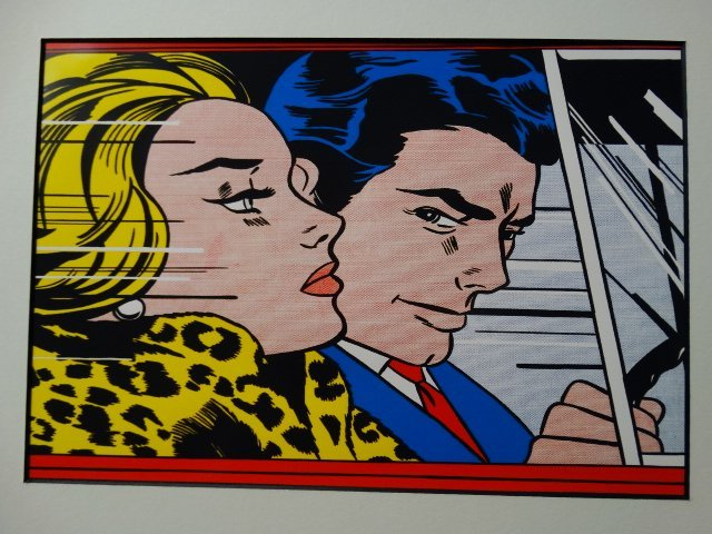 Roy Lichtenstein, 1987 -ART BASEL