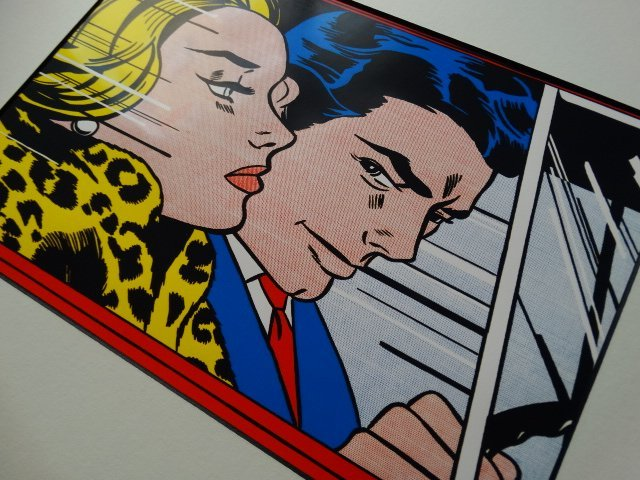 Roy Lichtenstein, 1987 -ART BASEL - 2