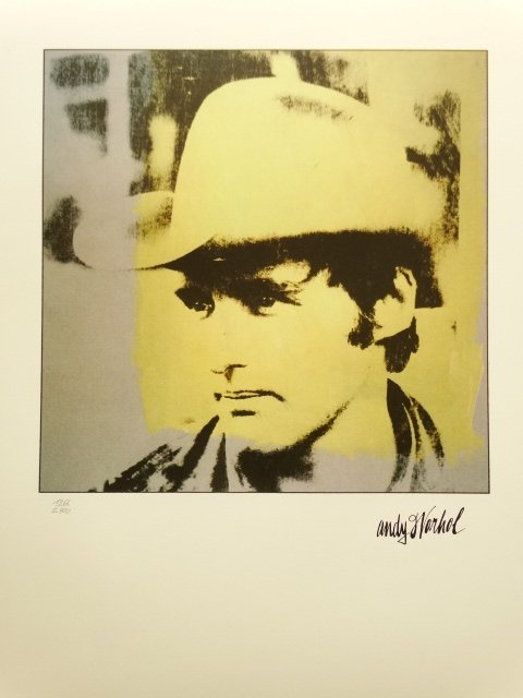ANDY WARHOL, LITHOGRAPH SIGNED AND HAND NUMBERED
