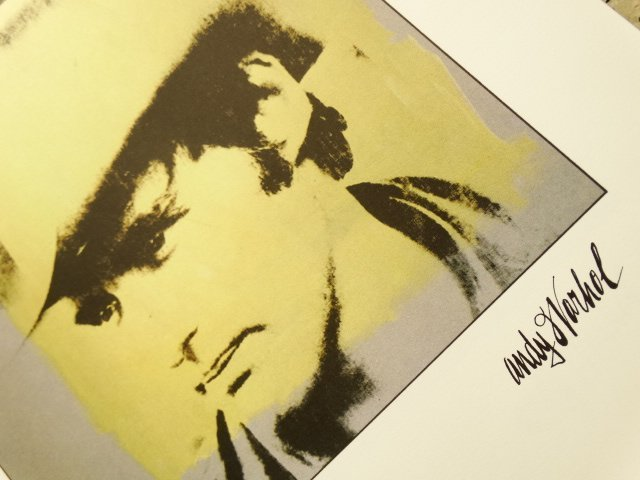 ANDY WARHOL, LITHOGRAPH SIGNED AND HAND NUMBERED - 2