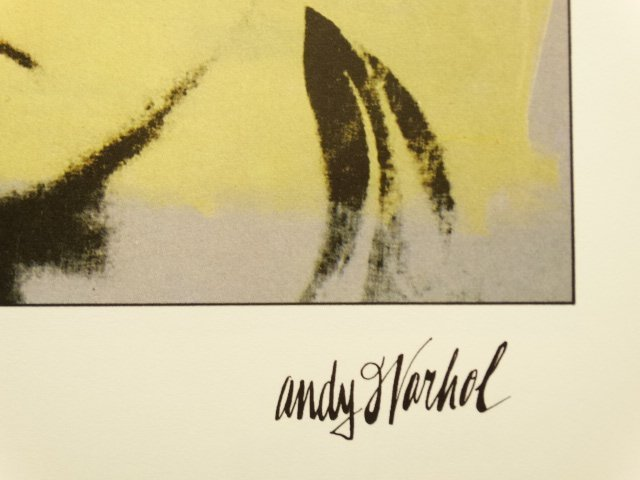 ANDY WARHOL, LITHOGRAPH SIGNED AND HAND NUMBERED - 3