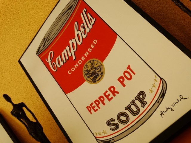 ANDY WARHOL, CAMPBELLS LITHOGRAPH SIGNED HAND NUMBERED - 4