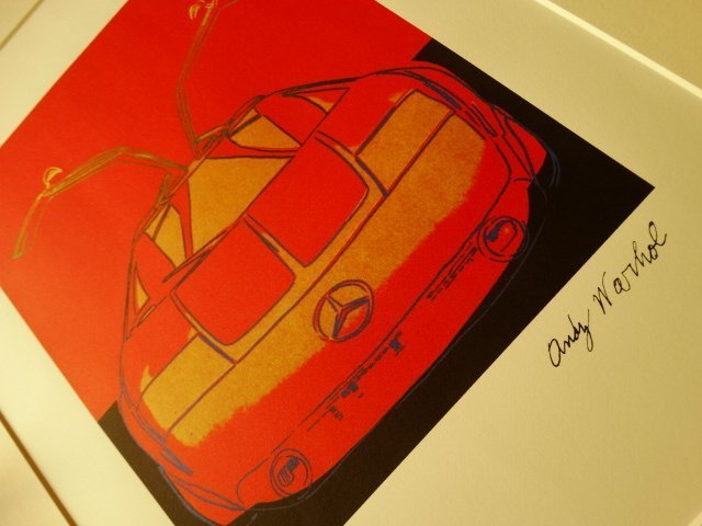 ANDY WARHOL, MERCEDES LITHOGRAPH SIGNED HAND NUMBERED