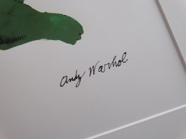 ANDY WARHOL, LITHOGRAPH SIGNED - 2