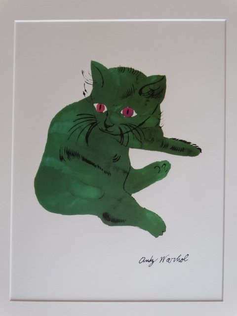 ANDY WARHOL, LITHOGRAPH SIGNED - 3