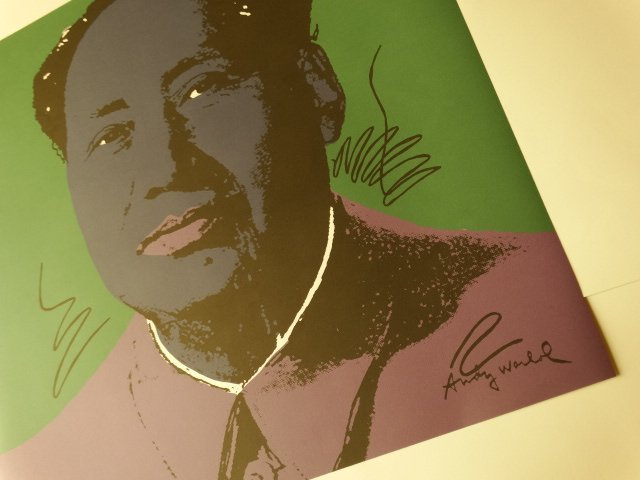 ANDY WARHOL, MAO - 2