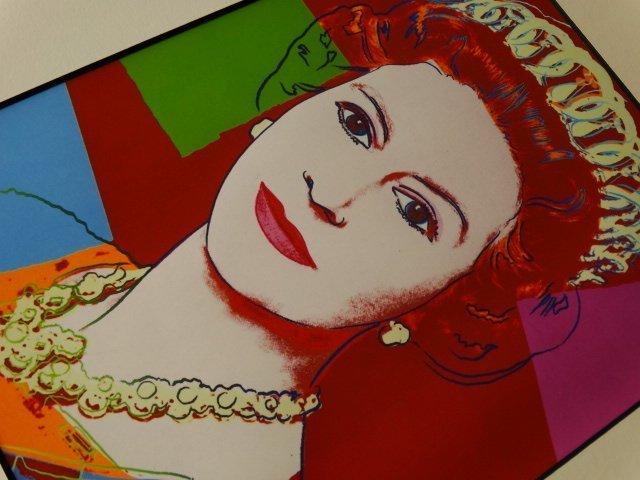 ANDY WARHOL, QUEEN ELIZABETH, 1987 -ART BASEL