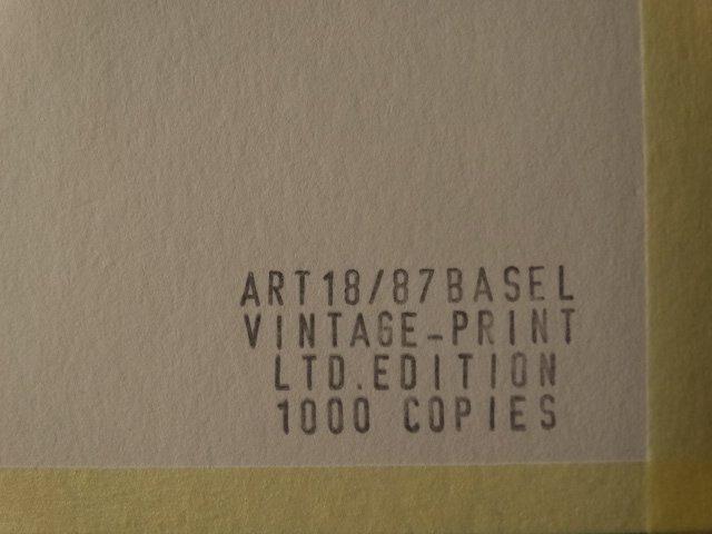 ANDY WARHOL, QUEEN ELIZABETH, 1987 -ART BASEL - 3